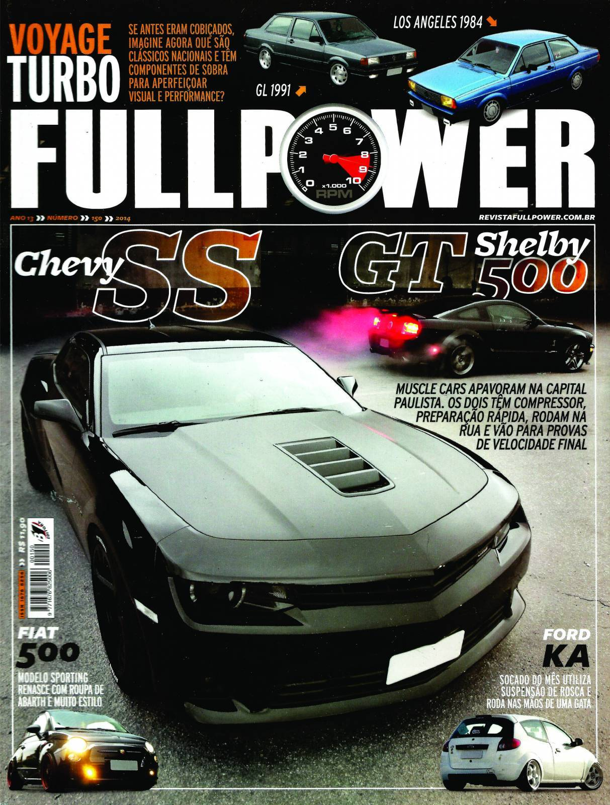 REVISTA FULLPOWER No. 150 ANO 2014 - Loja FullPower