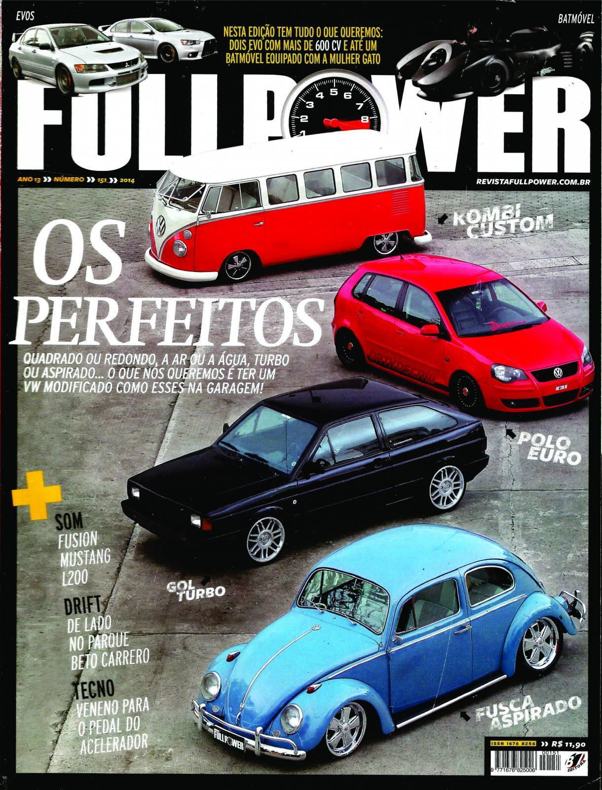 REVISTA FULLPOWER No. 151 ANO 2014 - Loja FullPower