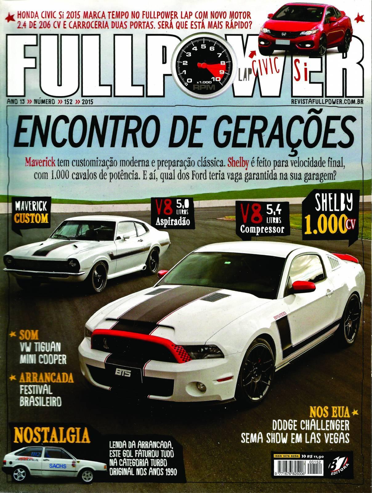 REVISTA FULLPOWER No. 152 ANO 2015 - Loja FullPower