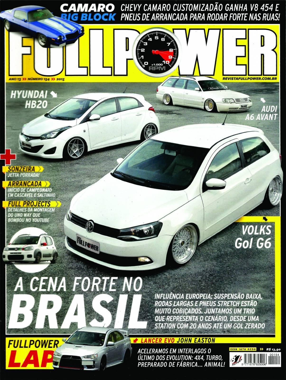 REVISTA FULLPOWER No. 154 ANO 2015 - Loja FullPower