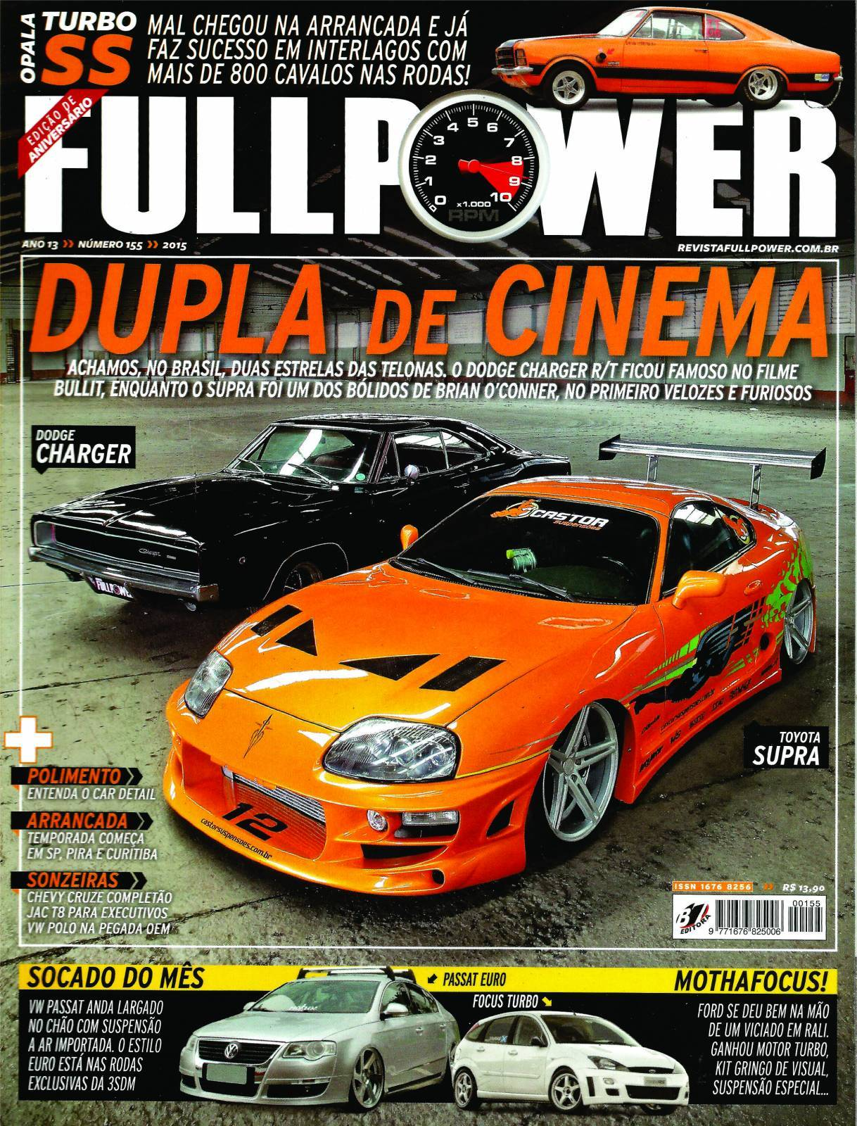 REVISTA FULLPOWER No. 155 ANO 2015 - Loja FullPower