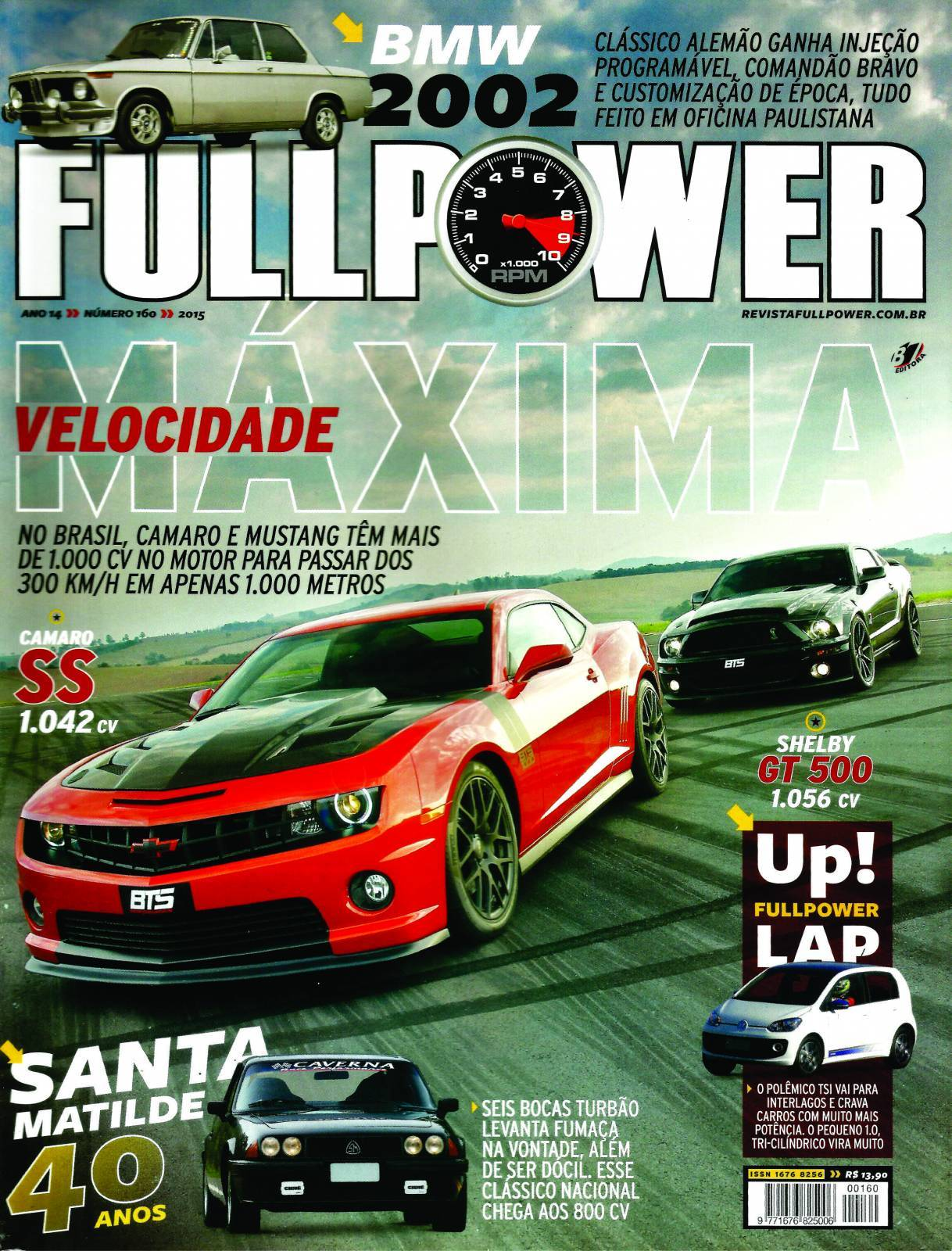 REVISTA FULLPOWER No. 160 ANO 2015 - Loja FullPower