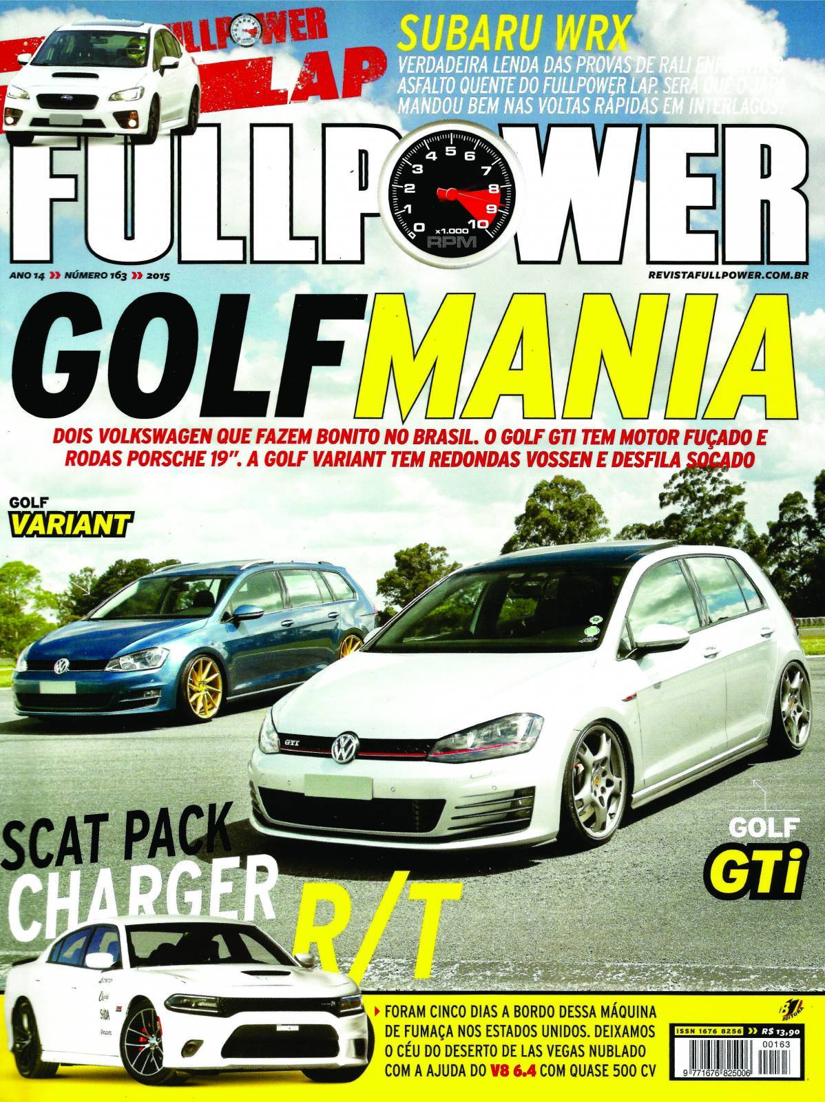 REVISTA FULLPOWER No. 163 ANO 2015 - Loja FullPower