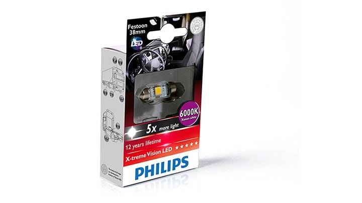 Philips Led Xtreme Vision 38mm Torpedinho - Loja FullPower