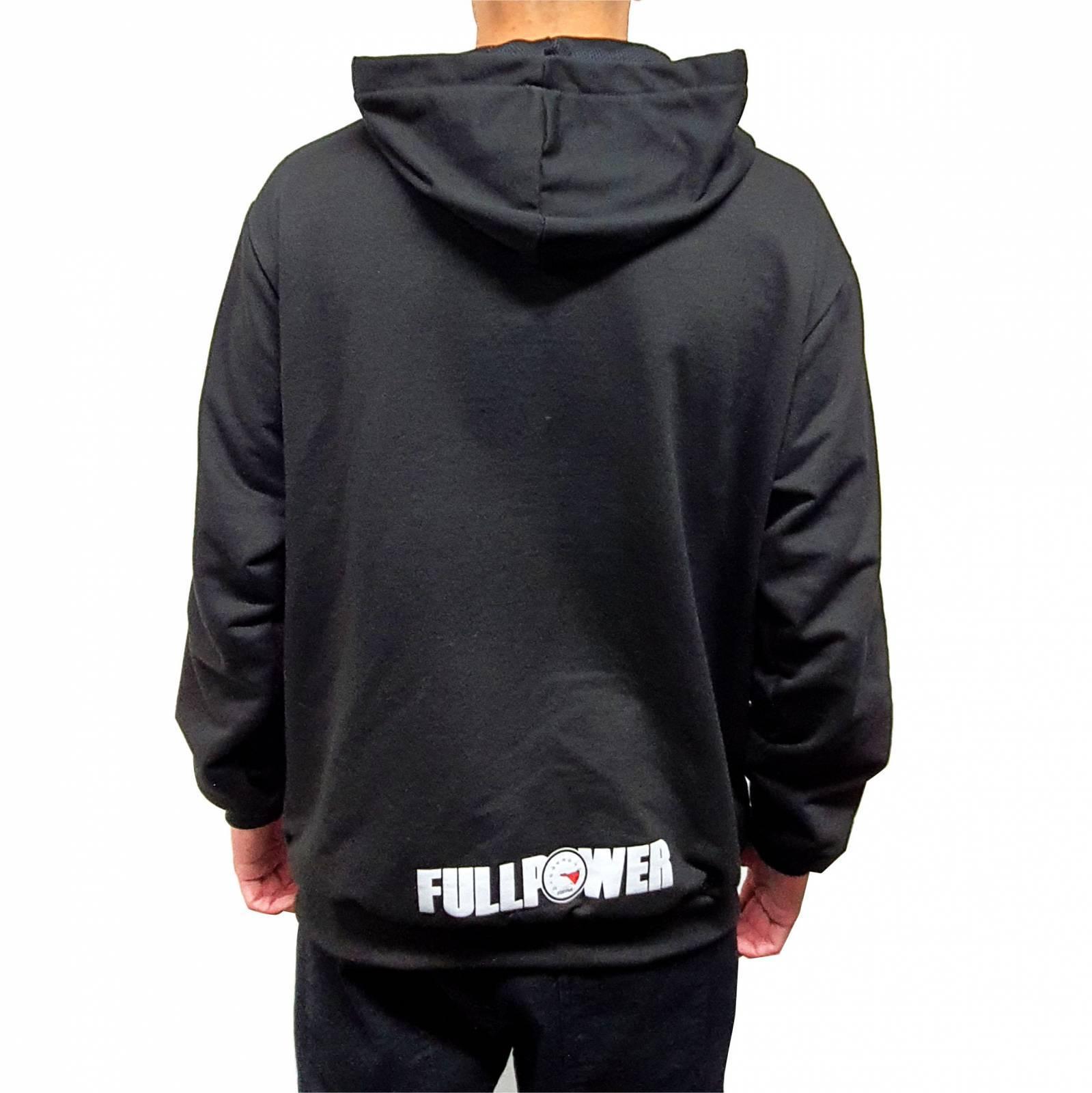 Moletom Masculino Fechado FullPower Caveira Preto - Loja FullPower