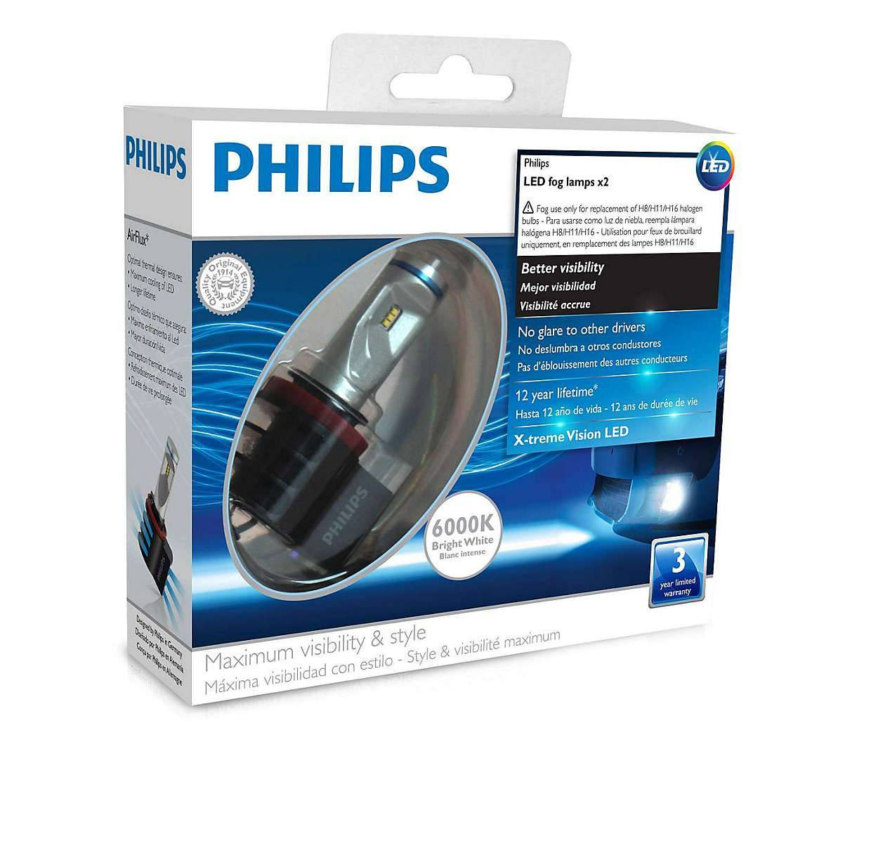 X-tremeUltinon LED Lâmpada para Faróis Automotivos para Neblina - Loja FullPower