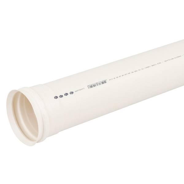Tubo PVC Esgoto Tigre 100mm Barra com 6mt - Bavcom Tijolão Materiais de construção