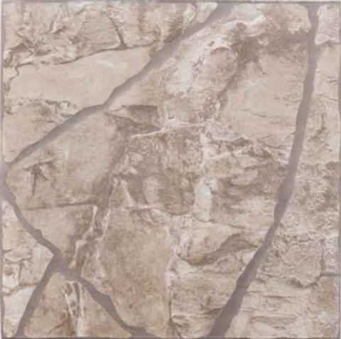Piso Nardini Extra 45X45 45323 Pedra Ferro Beige - Bavcom Tijolão Materiais de construção