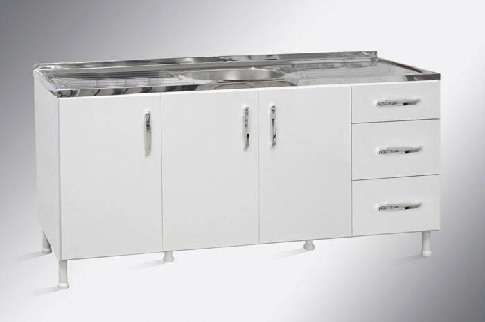 Balcao para cozinha Agne 1,60m Graciosa Rovere - Bavcom Tijolão Materiais de construção