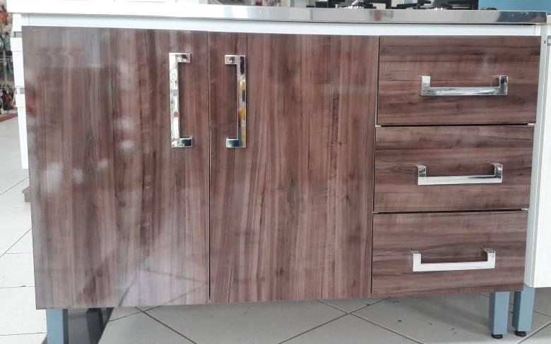 Balcao para cozinha Agne 1,20m  - Bavcom Tijolão Materiais de construção