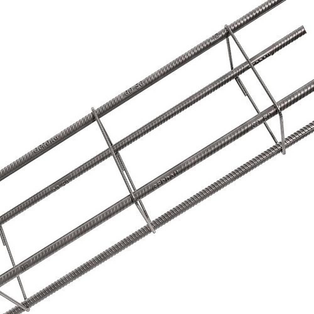 Ferro Coluna Pronta 10x20cm - 10,0mm - Bavcom Tijolão Materiais de construção