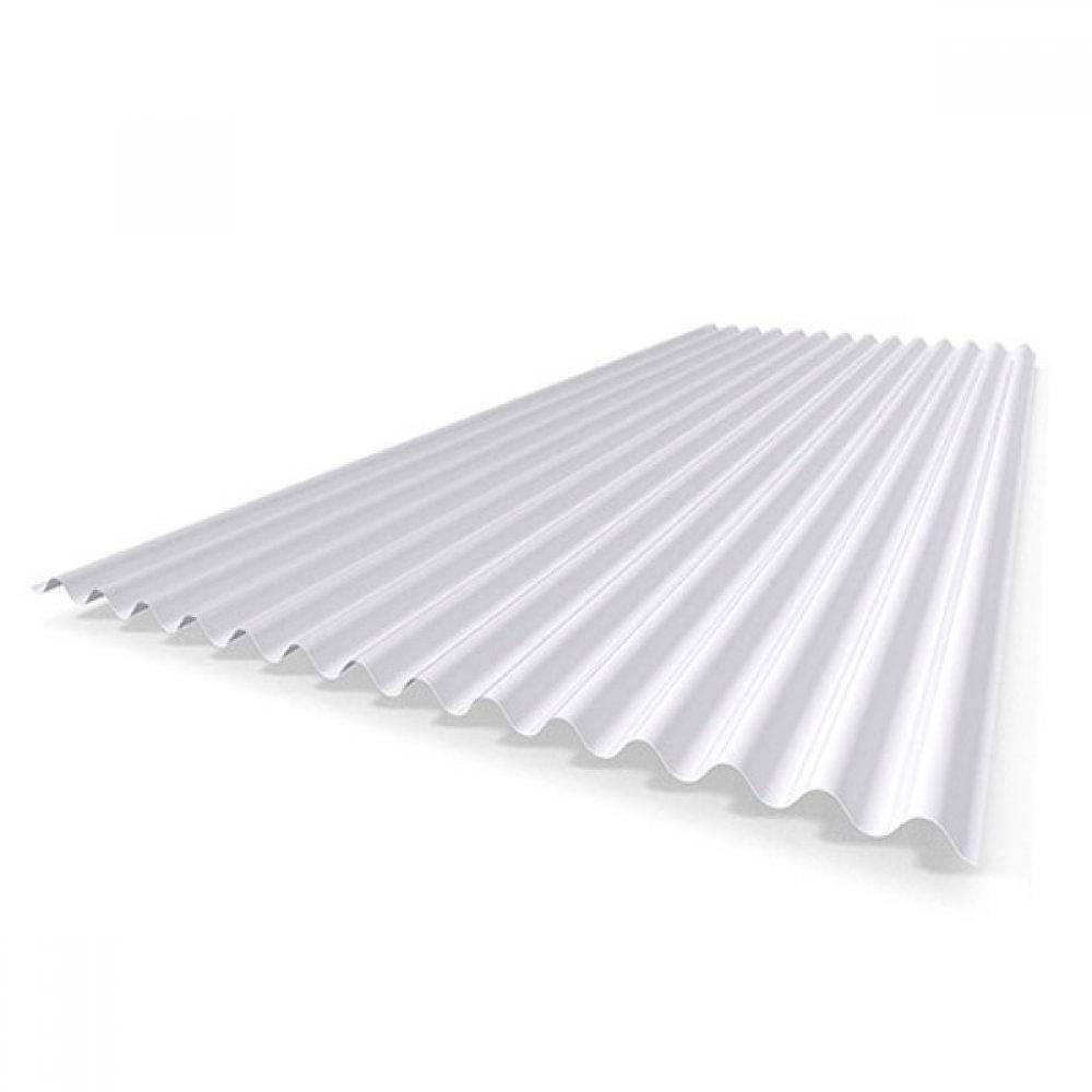 Telha Translúcida PP Leitosa 3,05 x 1,10m - Bavcom Tijolão Materiais de construção