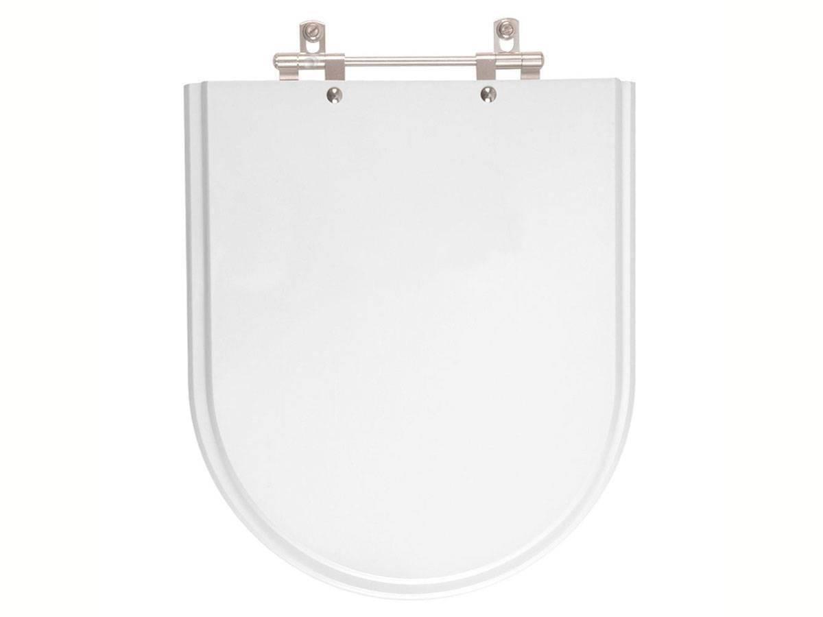 Assento Sanitário Fiori laqueado Flox Branco - Bavcom Tijolão Materiais de construção