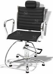 Cadeira Cabeleireiro Hidráulica Reclinável - Atenas