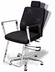 Cadeira Cabeleireiro Hidráulica Reclinável - Croma