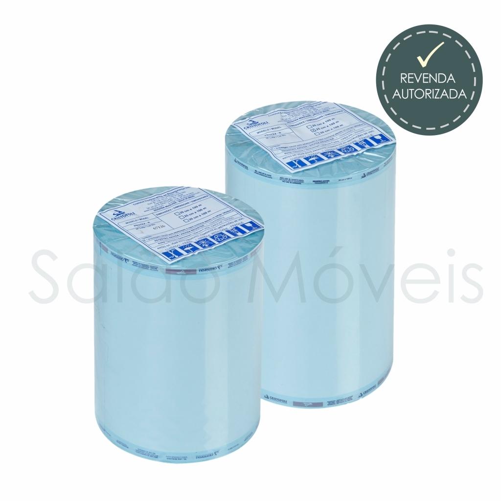 Embalagem Tubular para Esterilização Protex-R 10cm por 100m