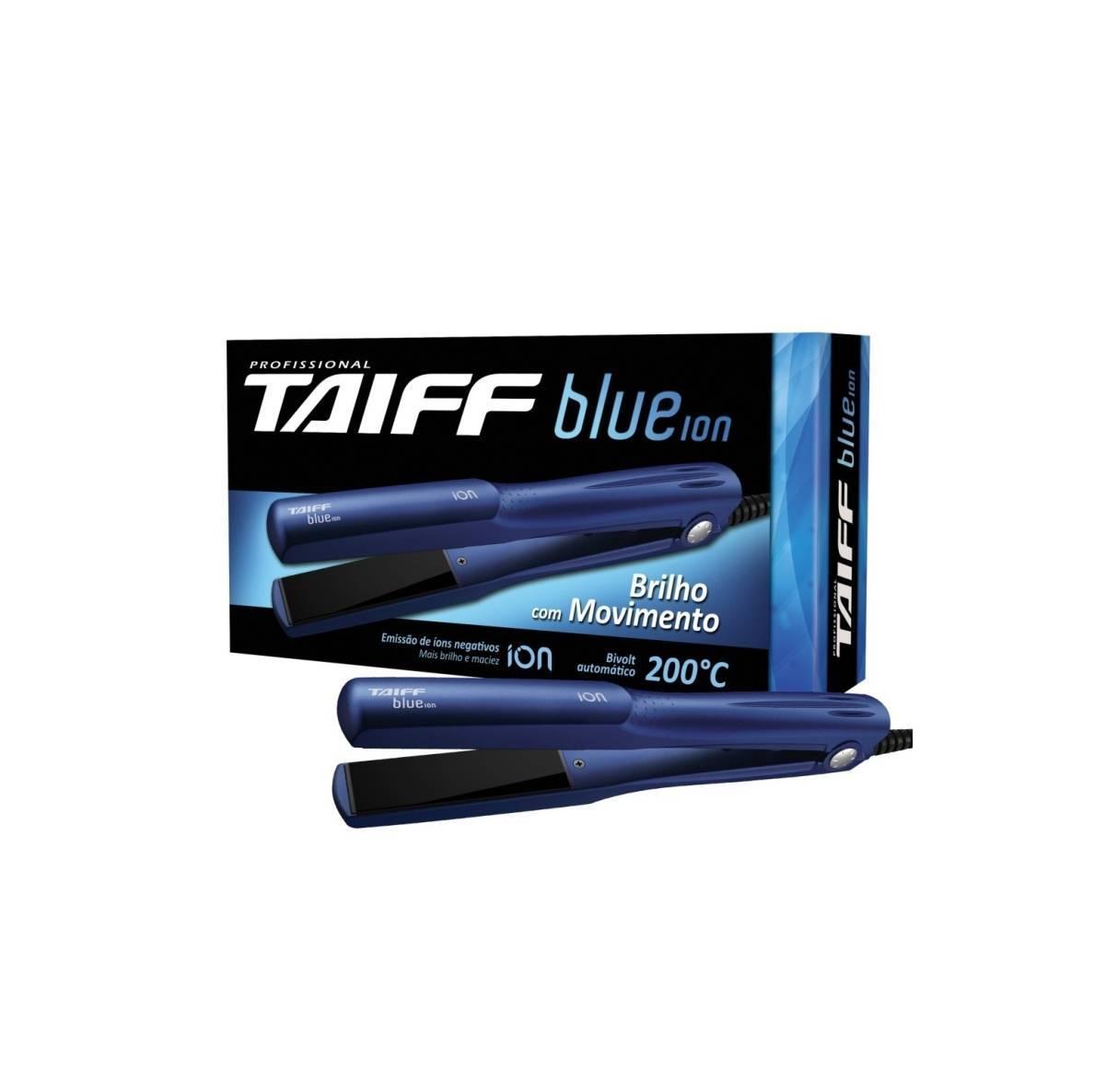Chapa/Prancha Taiff Blue Íon