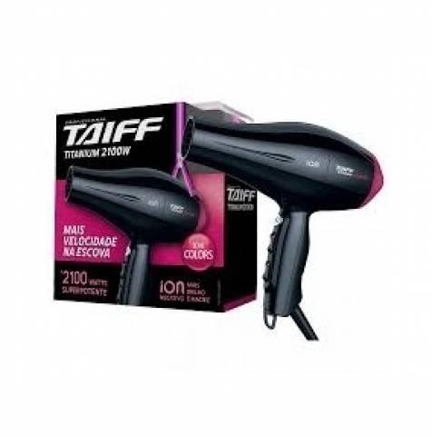 Secador de Cabelo Taiff Titanium Colors Pink C  Maleta 34405397c3ac