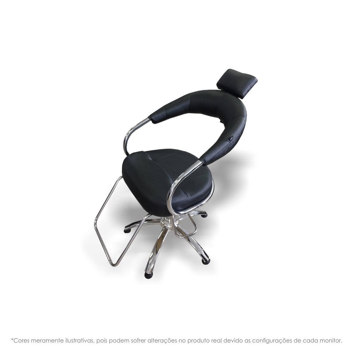 Cadeira Cabeleireiro Hidráulica - Futurama
