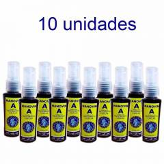 Nanovin A Cavalo de Ouro 30ml Tonico Crescimento Capilar - kit c/ 10Und.