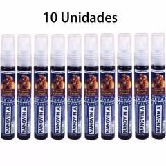 Nanovin A Krina de Cavalo Tonico Crescimento Capilar Kit c/ 10 unidades