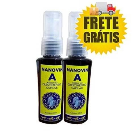 Nanovin A Cavalo de Ouro 30ml 2 Unidades Tonico Crescimento
