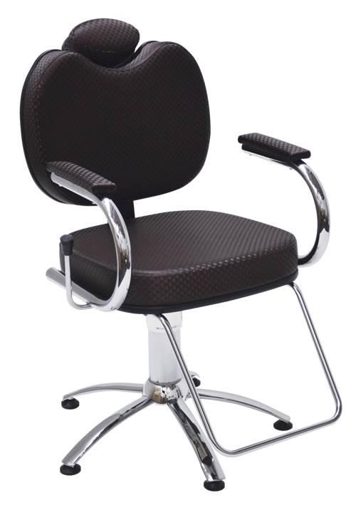 Cadeira Cabeleireiro Hidráulica Reclinável - Pop