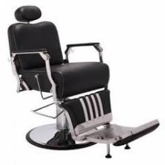 Poltrona Cadeira Barbeiro Picasso Reclinavel Terra Santa | Salão Móveis