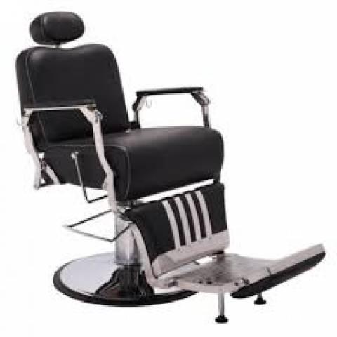 Poltrona Cadeira Barbeiro Picasso Reclinavel Terra Santa