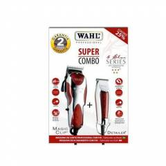 WAHL KIT MAQUINA DE CORTE E ACABAMENTO MAGIC CLIP + DETAILER
