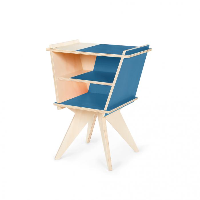 Mesa de Apoio Ki No Classic Blue | FITTO Madeira Design Arte