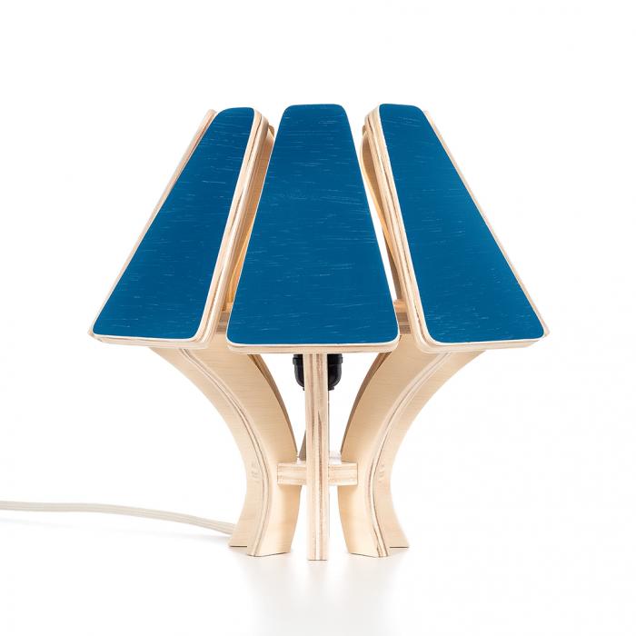 Abajur Mycena CB Classic Blue | FITTO Madeira, Design e Arte