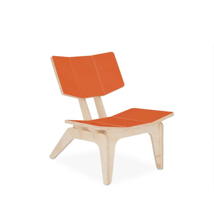 Cadeira Infantil Carambelinha Laranja | FITTO Kids