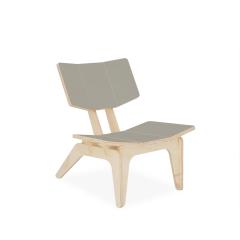 Cadeira Infantil Carambelinha - Cinza Espacial