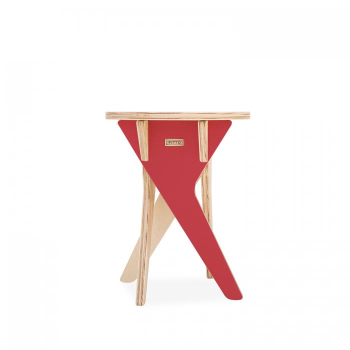 Bandeja Angulus Cereja | FITTO | Madeira, Design e Arte