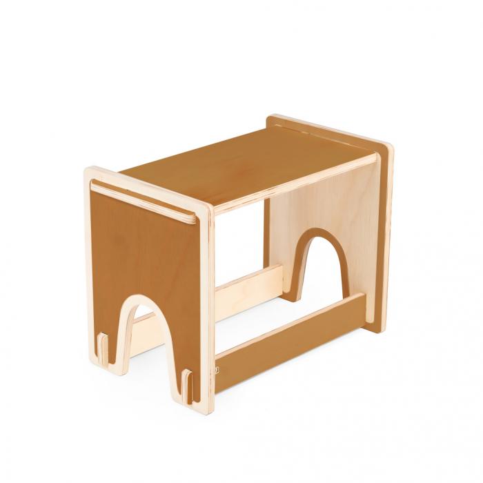 Banco Benchi Caramelo | FITTO | Madeira, Design e Arte