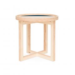 Mesa de Centro Vinil Pequena Classic Blue