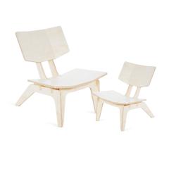 Poltrona Carambela e Cadeira Infantil Carambelinha