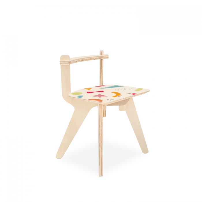 Cadeirinha Popota Luciana Gnoatto - Abstract Play Pastel | FITTO DESIGN
