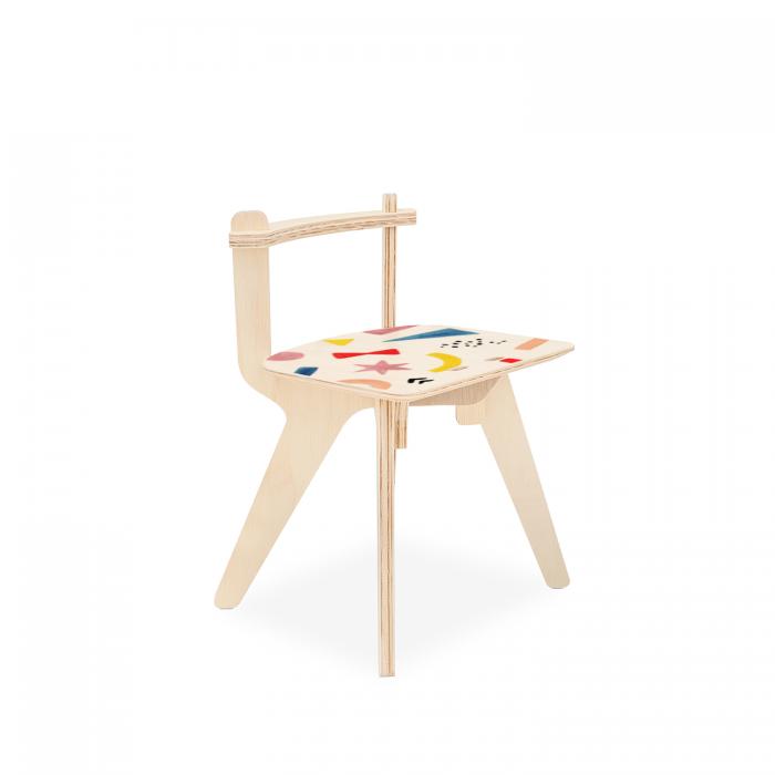 Cadeirinha Popota Luciana Gnoatto - Abstract Play Color | FITTO DESIGN
