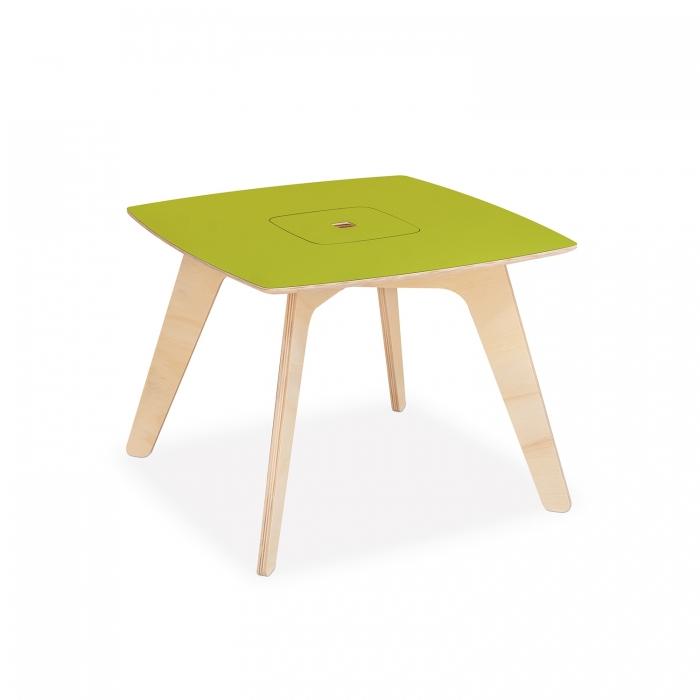 Mesa de Atividades Infantil Barn Verde Limão | FITTO DESIGN