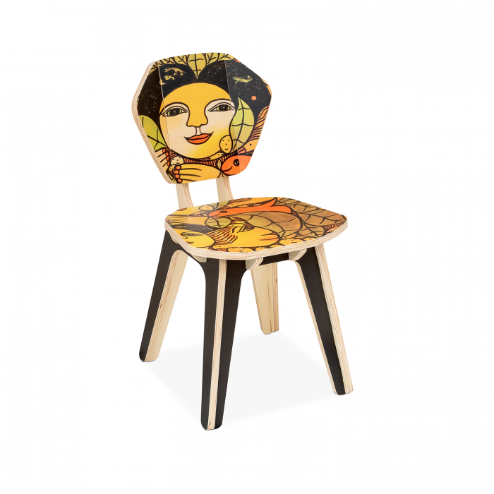 Cadeira Pétala Ilton Silva - Cores e Mitos 1 | FITTO DESIGN