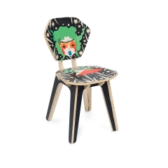 Cadeira Pétala Mari Mats - BLVK - Garden