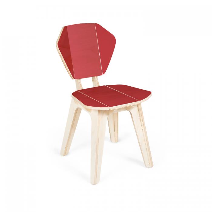 Cadeira Pétala CB Cereja