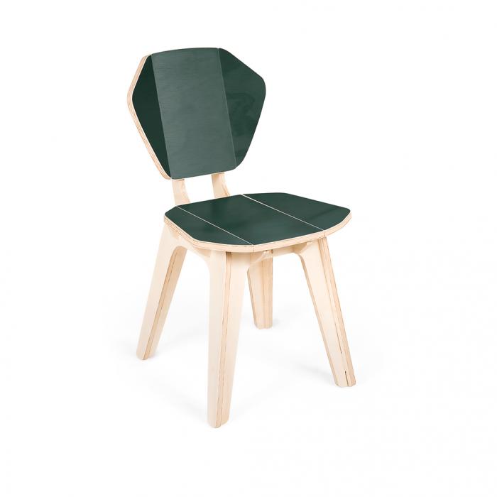 Cadeira Pétala CB Verde Tropical
