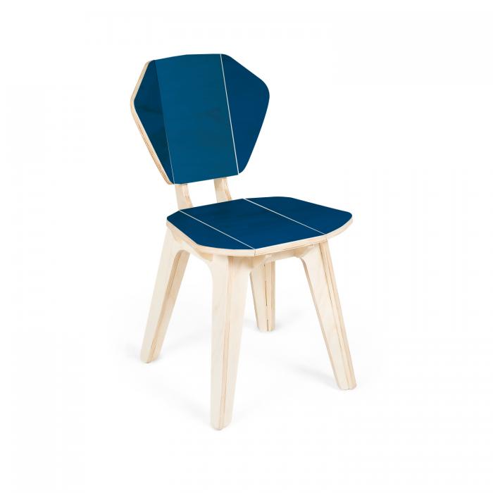 Cadeira Pétala CB Classic Blue | FITTO Madeira Design e Arte