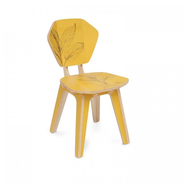 Cadeira Pétala Roberta Kremer Cúrcuma | FITTO