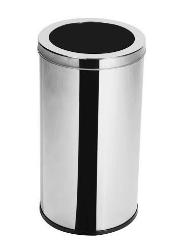 Lixeira Inox c/ Aro 10 litros - Elegance