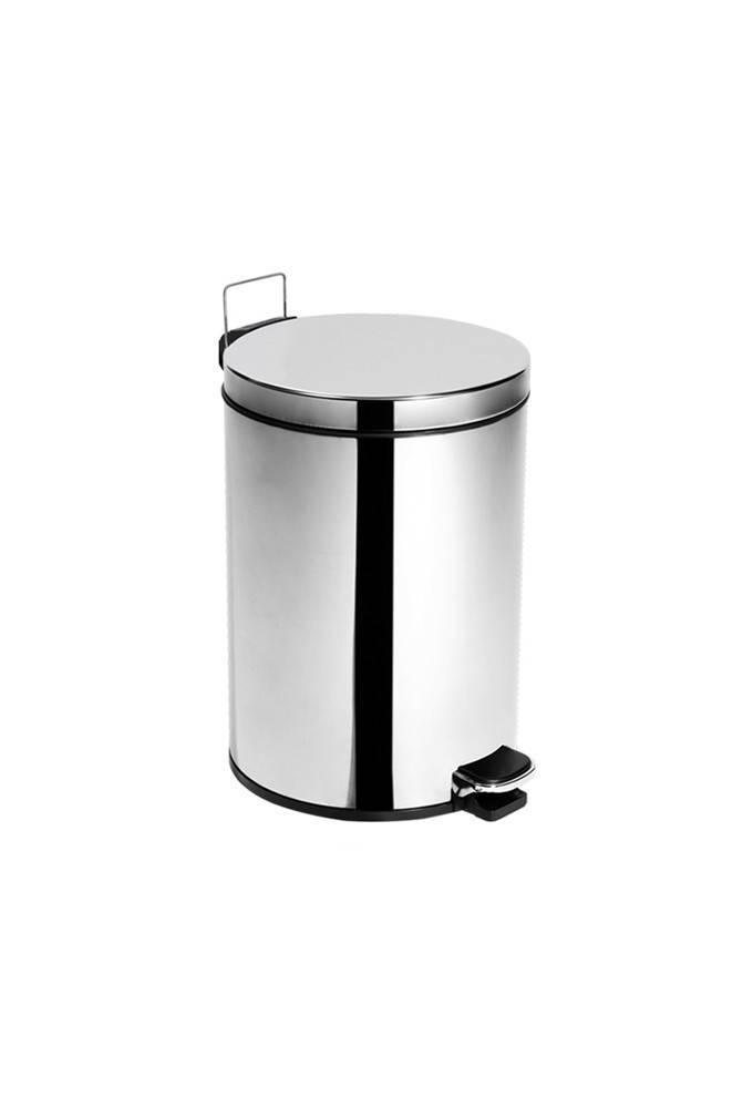 Lixeira Inox c/ Pedal e Balde Elegance - 5,5 Litros