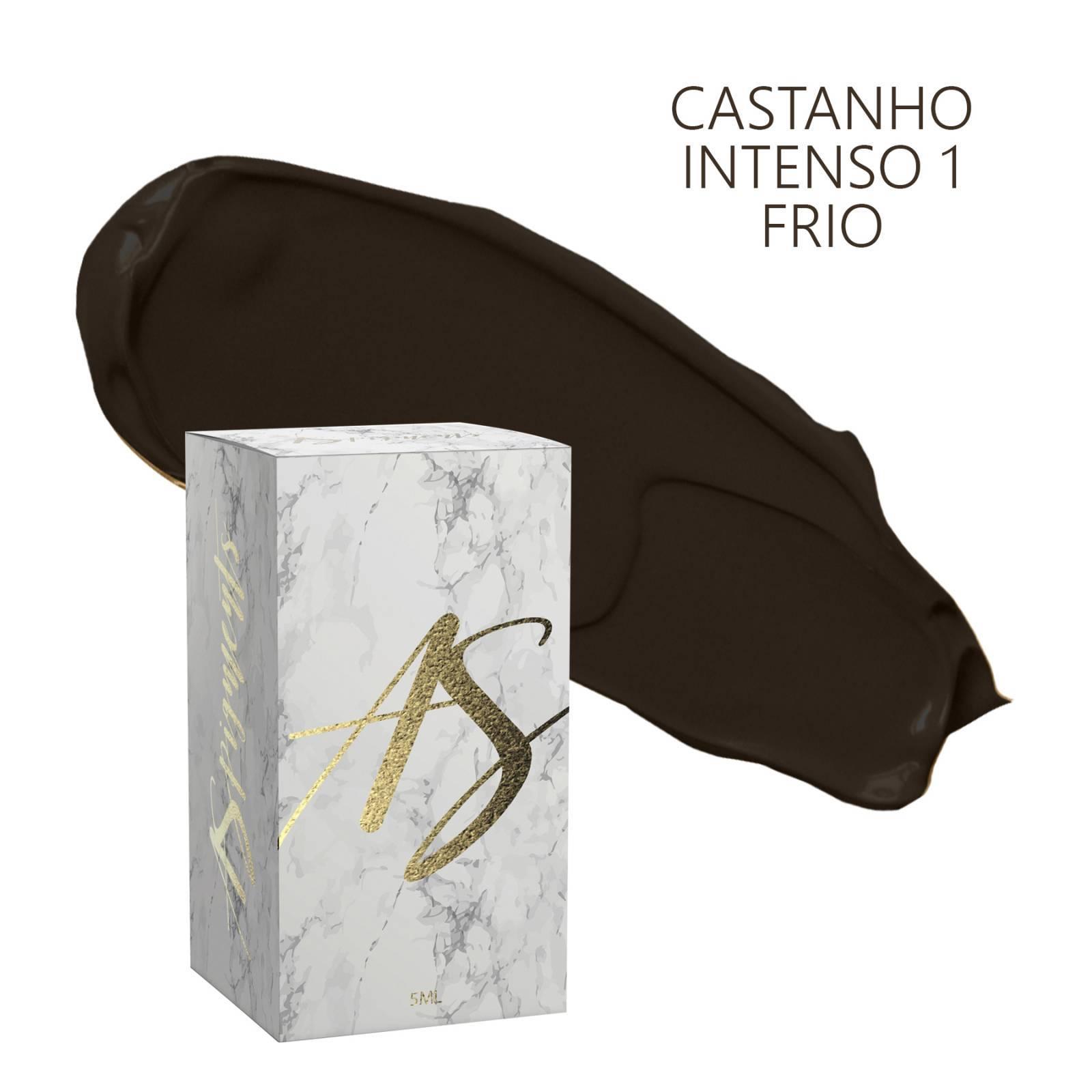 Pigmento Castanho intenso 1 frio- embalagem 5 ml - Loja Ana Paulla